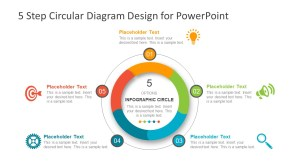 5 Step Circular Diagram Design for PowerPoint  SlideModel