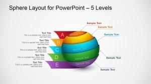 3D Spheres Diagram Design for PowerPoint