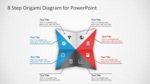 8 Steps Origami PowerPoint Diagram  SlideModel