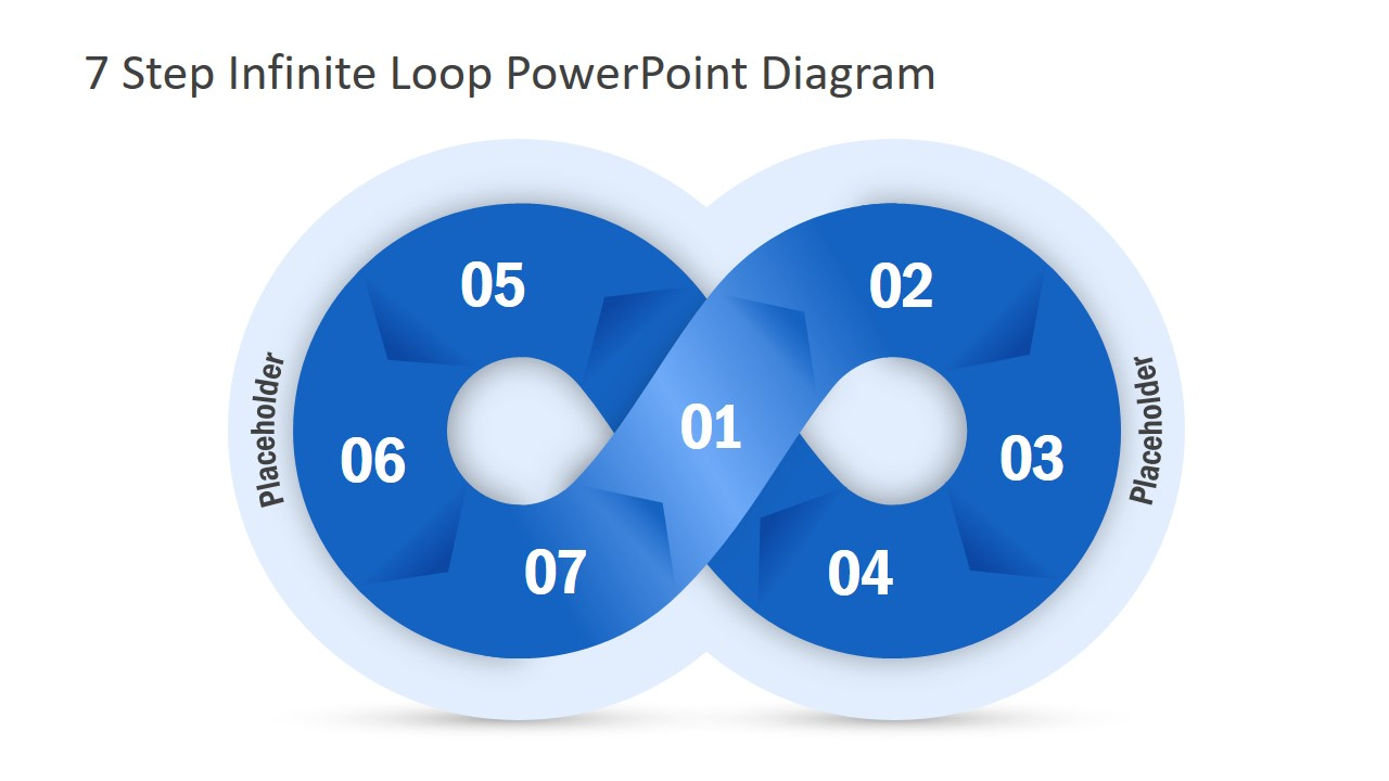 Infinite Loop Powerpoint Template Slidemodel