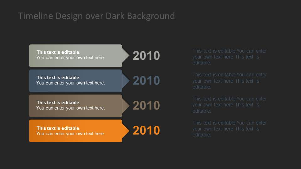 Timeline Template for PowerPoint   SlideModel     Vertical Timeline Template for PowerPoint