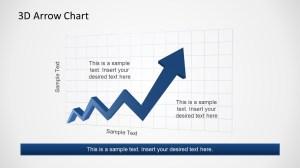 Zig Zag Rising Arrow Chart for PowerPoint  SlideModel