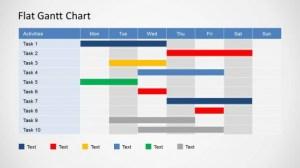 Gantt Chart PPT Templates