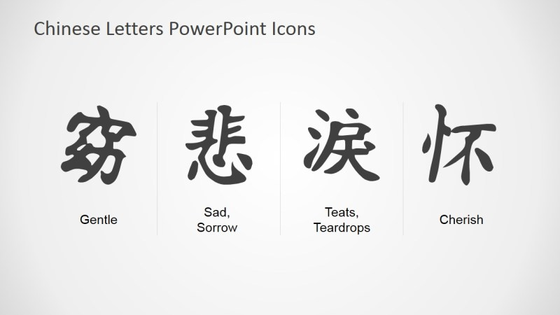Chinese Lettering Translation Poemsrom