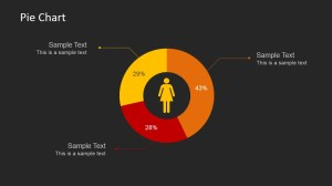 Female Pie Chart PowerPoint Template  SlideModel