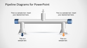 Pipelines Diagram Template for PowerPoint  SlideModel