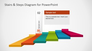 Stairs & Steps Diagram for PowerPoint  SlideModel