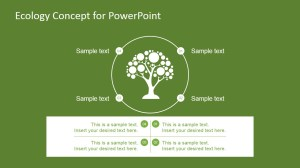 Ecology Concept PowerPoint Template Design  SlideModel