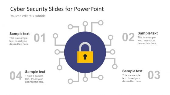 4 Step Diagram For Cyber Security