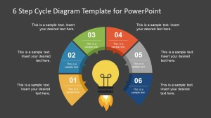 6 Step Cycle Diagram PowerPoint Template  SlideModel