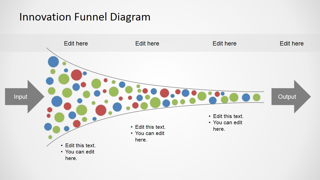 Free Innovation Funnel Diagram For Powerpoint