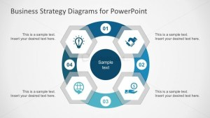 Hexagonal Diagrams with PowerPoint Icons  SlideModel