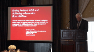 "Ric Marlink, Executive Director of the Harvard AIDS Initiative and co-editor of ""Engaging to End the Epidemic"""