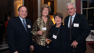 Jeffrey Sturchio, Mary Revelle Paci, Florence Koplow and Ric Marlink
