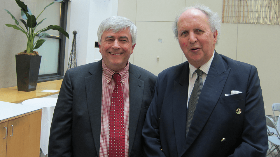 Max Essex and Alexander McCall