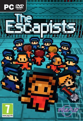 Covers Amp Box Art The Escapists PC 1 Of 1