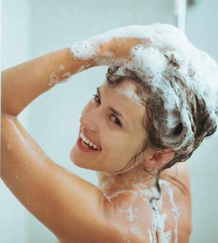 keep your hair clean