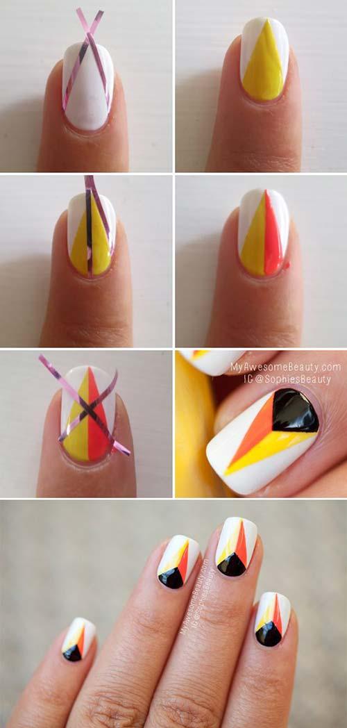 Pastel Pink Nail Art Design Simple Tutorial