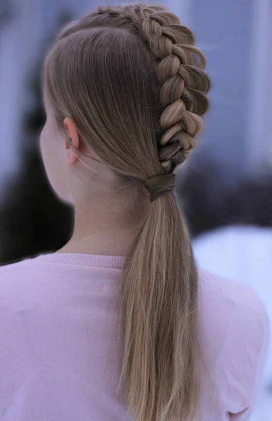 Cool Braids For Kids Hair Color Ideas And Styles For 2018