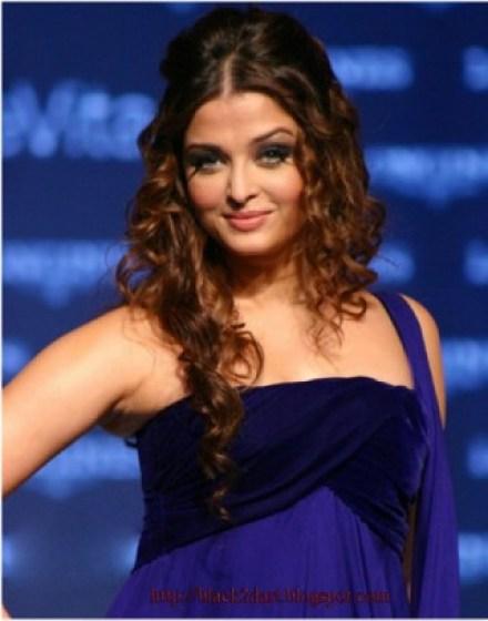 aishwarya rai curly hairstyles