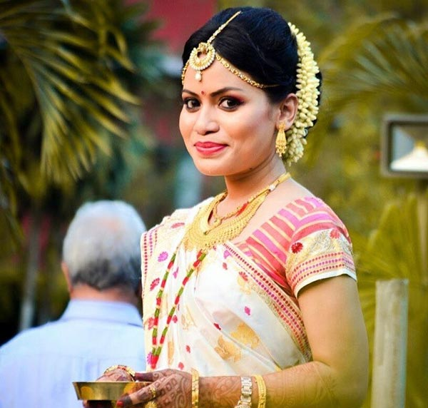 Indian bridal looks: Assamese bride