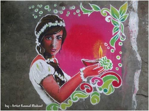 sanskar bharti rangoli classes