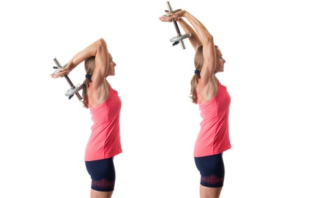 Image result for Triceps Chop