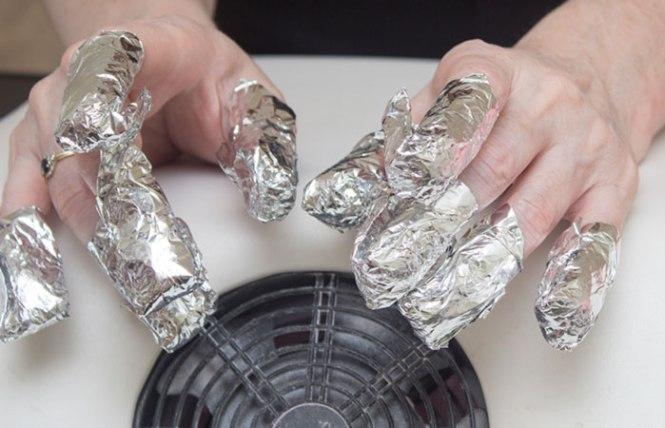 Apply A Dot Of Bio Sculpture Cuticle Cream To Each Nail