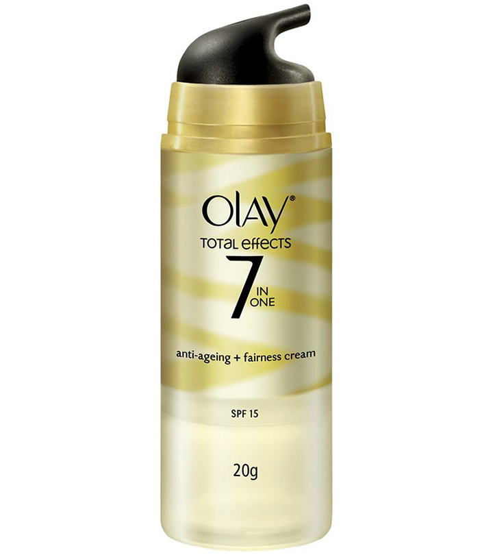 OLAY TOTAL EFFECTS 7 IN ONE ANTI-AGING FAIRNESS CREAM REVIEW