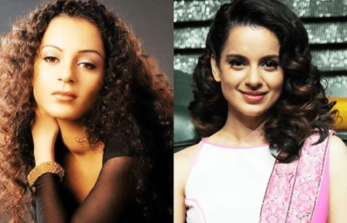 Kangana Ranaut Before and After Plastic Suregery