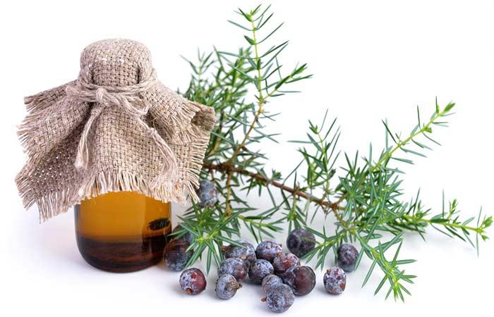 4. Juniper Berry Essential Oil