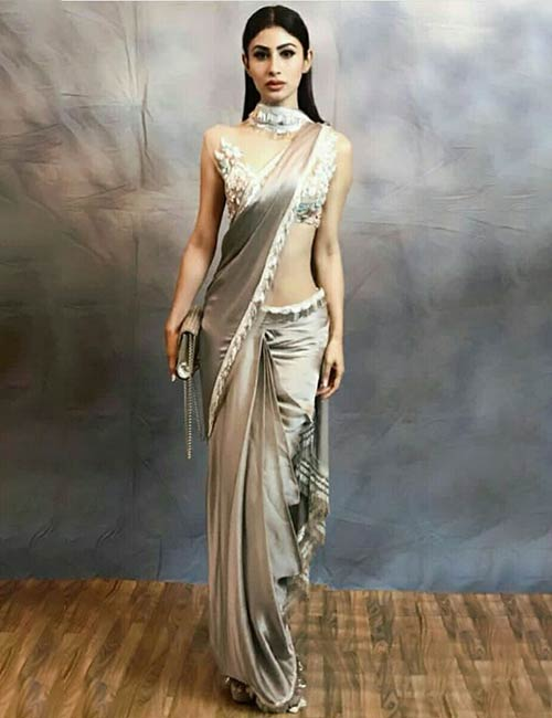 Scarf-Style-Saree Tired Of Old Saree Drapes? Try 21 Modern Styles No One Told You About! Random