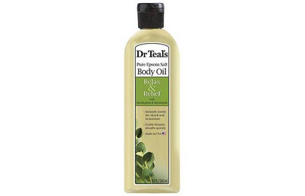 Dr. Teal's Pure Epsom Salt Body Oil With Eucalyptus & Spearmint