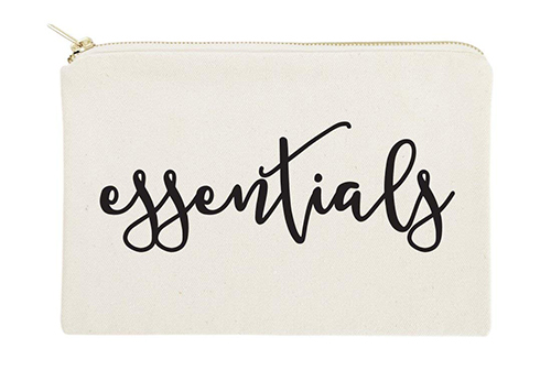 The Cotton & Canvas Co. Essentials Cosmetic Bag