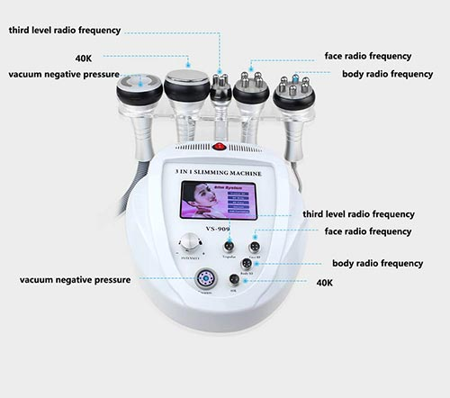 NSWD 40K RF Cellulite Removal Fat Loss Cavitation Machine