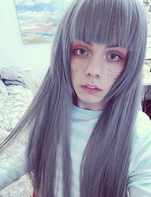 The Cosplay Hime Cut