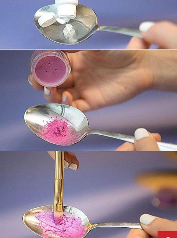Your Old Eye Shadow Can Become Your New Lipstick