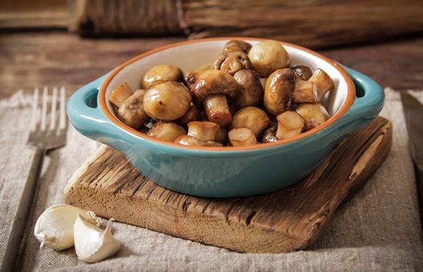 Keto Butter Fried Mushrooms