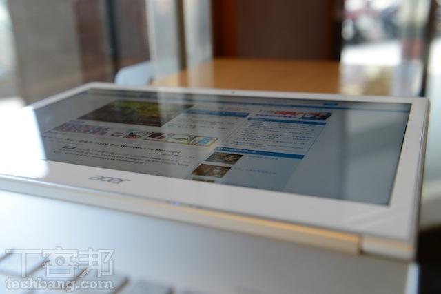 Acer Aspire S7 評測:簡潔雪白超薄 Win 8 觸控筆電 - 第 3 頁 | T客邦