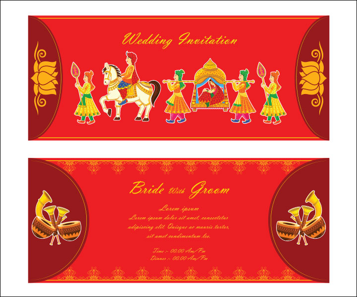 Invitation Card Psd Format Free Together With Hindu Wedding Templates Wording In English Indian Style