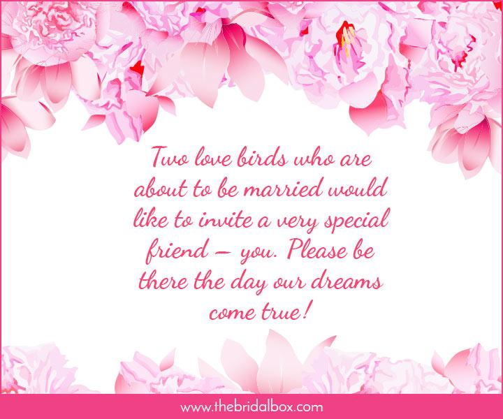 Wedding Invitation Wording 50