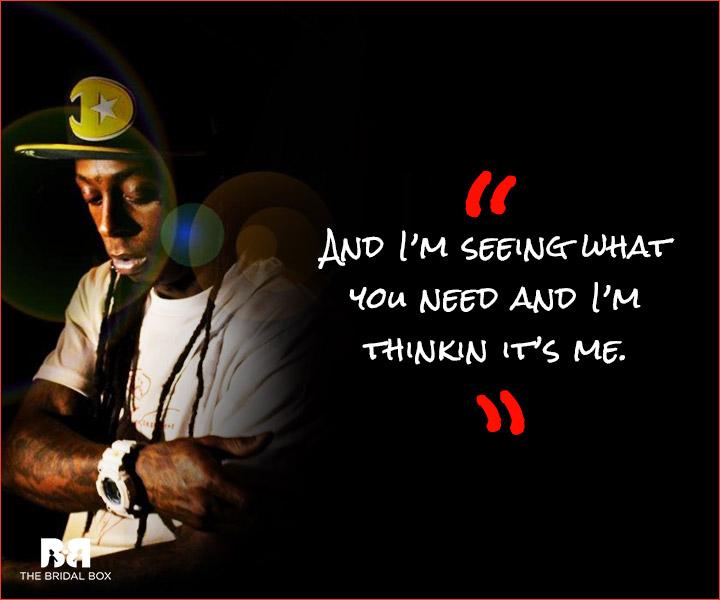 lil wayne love quotes im thinking - Lil Wayne Quotes