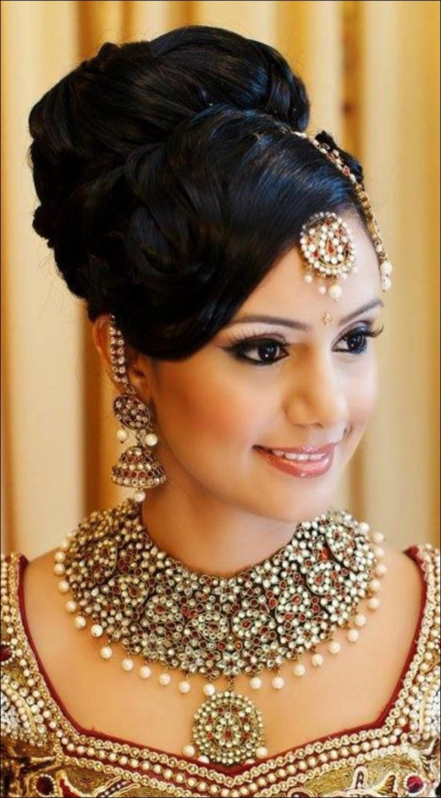 hindu bridal hairstyles: 14 safe hairdos for the modern day