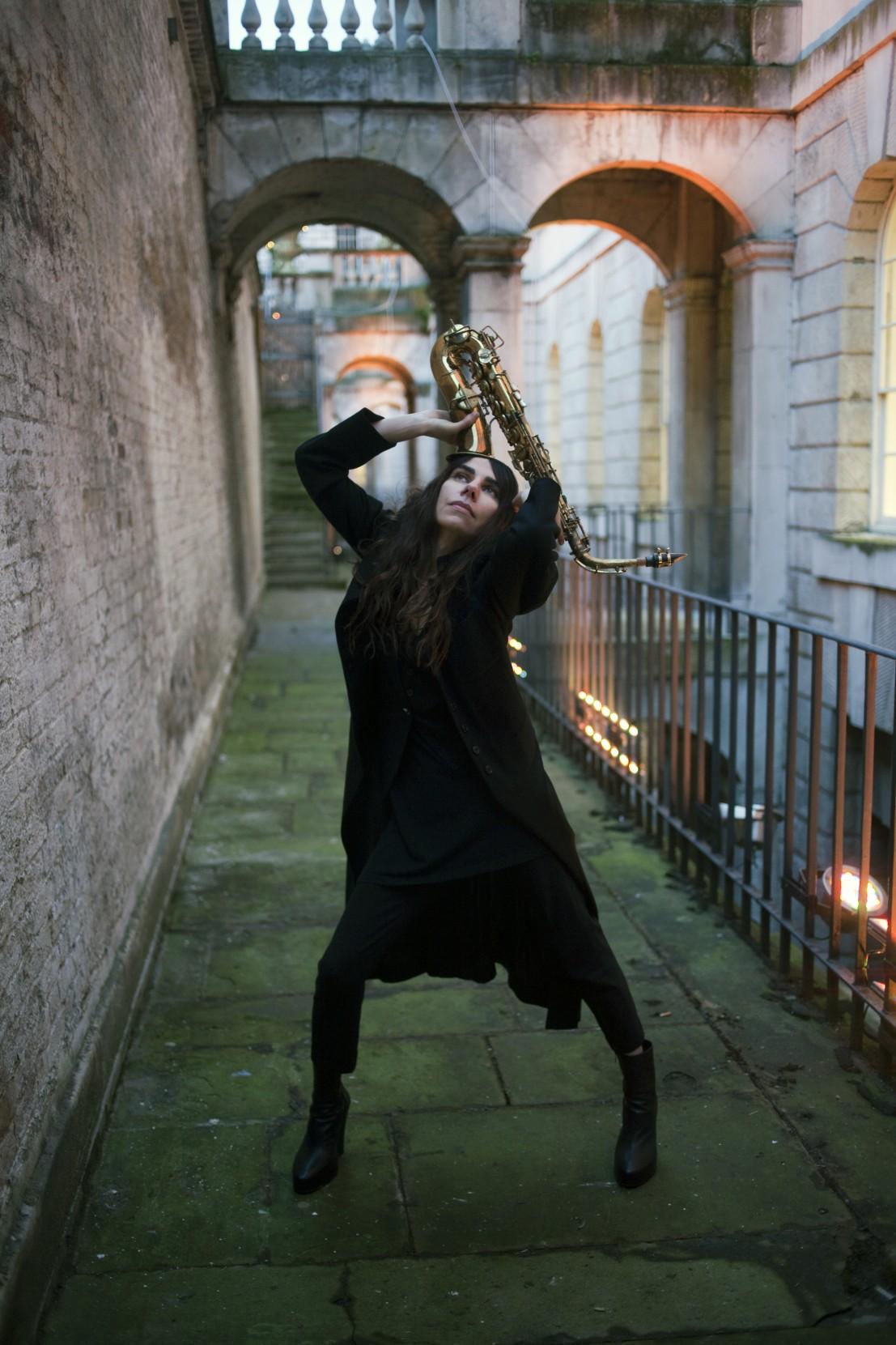 Pj Harvey Recording In Progress At Somerset House 2015