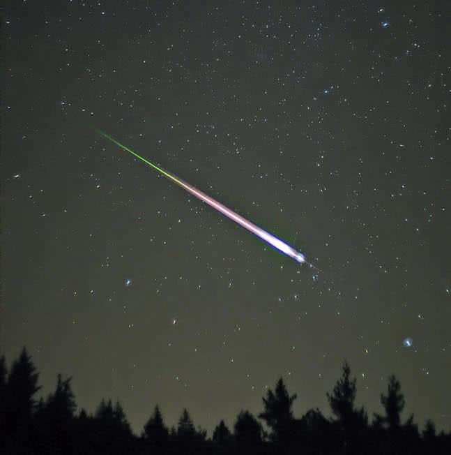 meteoritul leonid