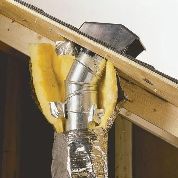 Vent Your Bath Kitchen Exhaust Fans Through Roof