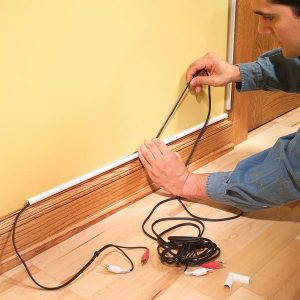 How To Hide Wiring: Speaker and LowVoltage Wire | The Family Handyman