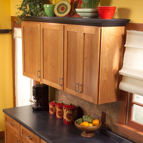 how to add shelves above kitchen cabinets | the family handyman