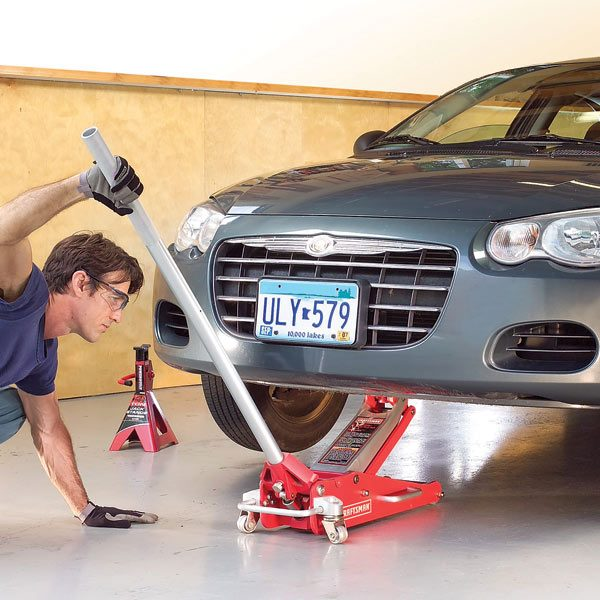 Car Repair Car Jack Safety The Family Handyman