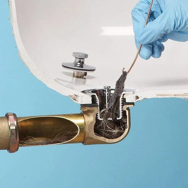 Image Result For Ways To Clear A Clogged Drain